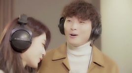 white christmas - kyung ri (nine muses), jin woon (2am)