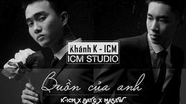 buon cua anh(karaoke) - k-icm, dat g, masew
