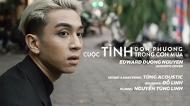 cuoc tinh trong con mua (acoustic cover) - duong edward, tung tic