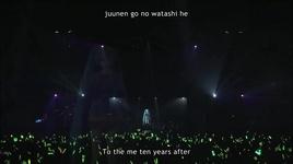 letter song (live in sapporo 2013) (engsub) - hatsune miku, doriko