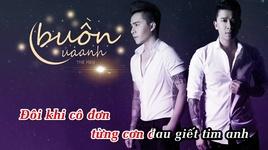 buon cua anh cover (karaoke) - the men