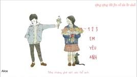 1 2 3 em yeu anh (handmade clip) - ha tu linh, giang trieu