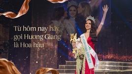 giay phut huong giang idol dang quang tai chung ket hoa hau chuyen gioi 2018 - v.a