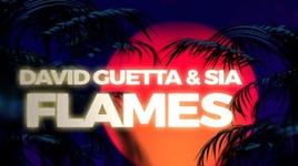 flames (lyric video) - david guetta, sia