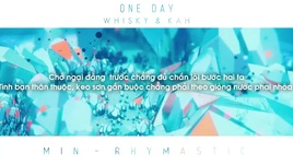 one day (lyric video) - min, rhymastic