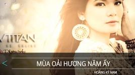 mua oai huong nam ay (karaoke) - hoang ky nam