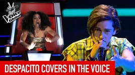 nhung ban cover despacito hay nhat tai cuoc thi 'the voice' - v.a
