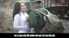 chuyen tinh nguoi linh (lyrics video) - kizzik, quan dao