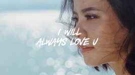 i will always love u (lyric video) - tia hai chau