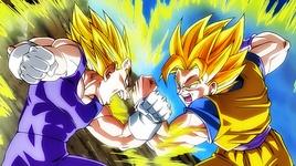 rap ve goku vs vegeta (dragon ball super) - phan ann