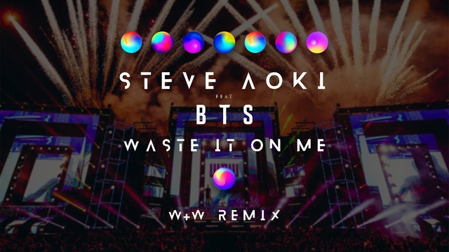 Waste It On Me (W&W Remix) - Steve Aoki, BTS (Bangtan Boys