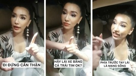 khi bich phuong dan do fan di lai can than - v.a