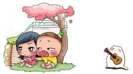 co gai gu chi vs chang trai don che (hiim hii) (sieu dang yeu) - quynh aka