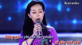 dung nhac chuyen long (karaoke) - ngoc kieu oanh