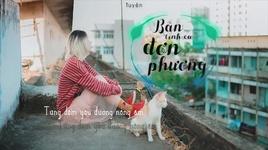 ban tinh ca don phuong (lyric video) - nguyen kim tuyen