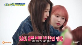 weekly idol (tap 402 - vietsub) - iz*one