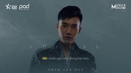 vo cung (vi anh thuong em) (karaoke) - pham anh duy
