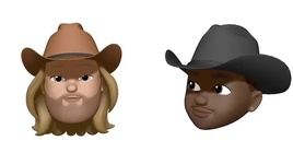 old town road (remix) (animoji video) - lil nas x, billy ray cyrus
