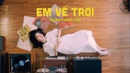 em ve troi (karaoke) - phung khanh linh