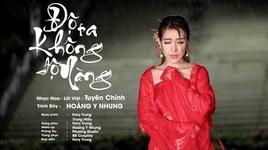 do ta khong do nang (vietnamese cover) - hoang y nhung