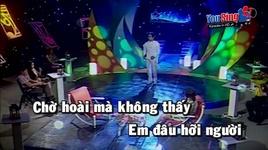 dong song buon (karaoke) - bang cuong