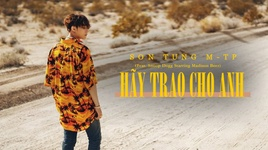 hay trao cho anh (karaoke) - son tung m-tp