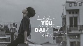 loi yeu ngay dai (karaoke) - kha