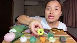 an wagashi mochi, mochi & mochi dango sieu cute hot me - cuoc song o nhat #297 - quynh tran jp