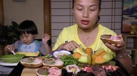 ngat ngay cua tuyet sieu gach, sushi & dua luoi sieu ngot sieu ngon, qua xa da  - cuoc song o nhat #328 - quynh tran jp