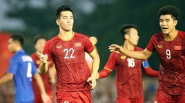 u22 viet nam 2-2 u22 thai lan: thay tro park hang seo da bay thai lan khoi sea games 30 - v.a