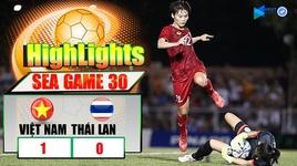viet nam 1-0 thai lan: tuyen nu viet nam de bep thai lan nghet tho, vo dich sea games 30 - v.a