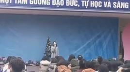 dance monkey - nu sinh gay bao vi cover qua hay - v.a
