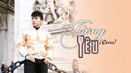 tung yeu (cover) (karaoke) - dan truong