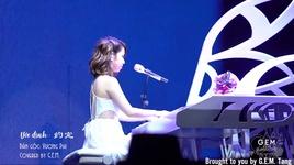 uoc dinh + xin theo buoc chan anh + moi ngay yeu anh nhieu hon / 約定 + 讓我跟你走 + 每天愛你多一些 (concert queen of hearts hong kham) (vietsub) - dang tu ky (g.e.m)