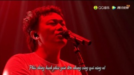 hoa hong do + hoa hong trang / 紅玫瑰 + 白玫瑰 (live) (vietsub) - tran dich tan (eason chan)