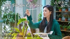 cau tra loi cua anh / 我的回答 (ai cung khao khat duoc gap em ost) (vietsub, kara) - vuong khieu khon (essay wang)