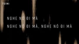 chinh no (lyric video) - blacka, tuimi