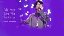 mot mon man, mot mon chay / 一葷一素 (singer 2020 china) (vietsub, kara) - mao bat dich (mao bu yi)