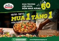 mon moi ngap tran – vo van uu dai: mua 1 tang 1 pizza moi ngay cung the pizza company