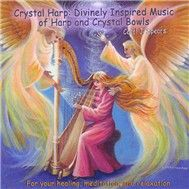 divinely inspired music of harp & crystal bowls - carol j. spears