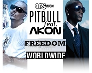 worldwide freedom - pitbull, akon