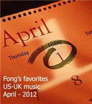 my april favorites us-uk songs - v.a