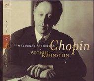 chopin mazurkas scherzos (vol. 6 - cd 2) - arthur rubinstein