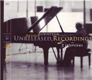 unreleased recordings 3 interviews (vol. 82 - cd2) - arthur rubinstein