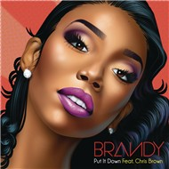 put it down (single) - brandy, chris brown
