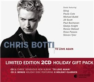 to love again - holiday gift pack - chris botti