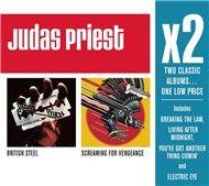 x2 (british steel/screaming for vengeance) - judas priest