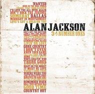 34 number ones - alan jackson