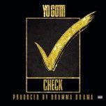 check (single) - yo gotti