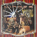 welcome to the freakshow - hinder